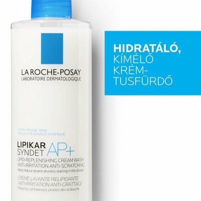 La Roche-Posay Lipikar Syndet AP+ kímélő lipidpótló krém-tusfürdő (szappanmentes)